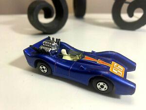 Matchbox LESNEY SUPERFAST 1971 BLUE SHARK RACER #81 Made In England