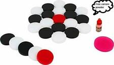 6MM ACRYLIC CARROM COIN (24 COINS WITH 1 STRICKER) US