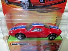 Matchbox 2006 SUPERFAST #41 FORD GT Car New with New Box + C9 Bubble Pack