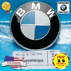 GENUINE BMW Hood/Trunk Roundel Emblem Badge OEM series  E36 E37 E38 E85 E86