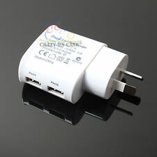 Wall Charger Dual USB Power Adapter for Apple iPhone 5 5S 6 6 Plus iPad Mini Air