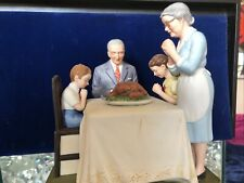 """Norman Rockwell The American Family """"Giving Thanks� The Museum Collection Mint"""