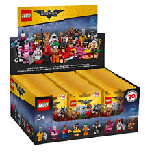 LEGO BATMAN MOVIE MINIFIGURAS CAJA COMPLETA BOX X 60 SOBRES NEW 71017 PRECINTADA