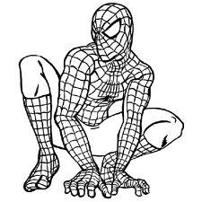 Spiderman drôle pare-chocs, Windows, Autocollant Autocollant Vinyle Caravane