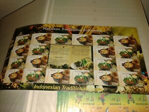 POST STAMPS FROM INDONESIA MNH (ID04)