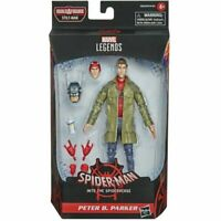 Hasbro Marvel Legends Series Spider-Man Into the Spiderverse Peter B. Parker NEW