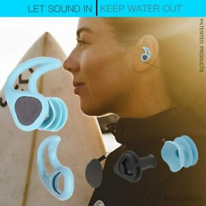 Swimming Ear Plugs Soft Silicone Sound Waterproof Earplugs Diving Water Surf