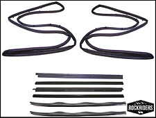 76-95 Jeep Wrangler YJ and CJ7 Replacement Full Door Seal Kit Driver & Passenger