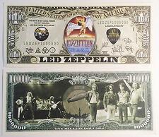 RARE: LED ZEPPELIN Million Novelty Note, Music. Buy 5 Get one