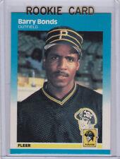 BARRY BONDS #604 1987 Fleer ROOKIE Near Mint or Better FREE SHIPPING