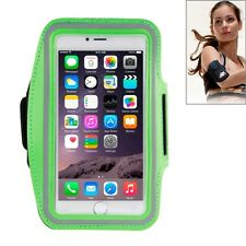 Custodia porta cellulare fascia da braccio Verde per Iphone 6 Plus e 6s Plus