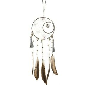 Home Gift Wedding Hand Crafted Native American Silver Dream Catchers MLND-05