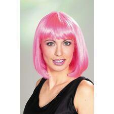 Perruque Linda rose carrée 1900076rosecarnaval soirée fetes deguisement costume