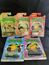 NEW HOT WHEELS Teenage Mutant Ninja Turtles Complete Set Of 5 Walmart Exclusive