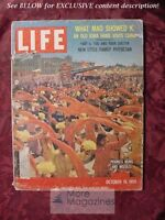 LIFE October 19 1959 PEKING CHINA CECIL B. DEMILLE HAL HOLBROOK as MARK TWAIN