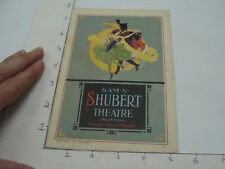 Vintage Original Program -- mar 22, 1926 ADA-MAY in CAPTIAN JINKS shubert theatr