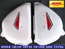 Honda CB CL 100 CB100 CL100 CB125S CL125S Left Side Frame Cover Battery LH White