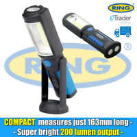 Ring RIL83 Compact LED Rechargeable Inspection Lamp Torch Light Magnet & Hook