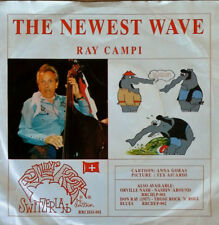RAY CAMPI - NEWEST WAVE b/w JOHNNY & ROCCOS - I HATE DISCO - SWISS 45 + PIC.SLV