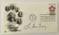 Ruth Bader Ginsburg Signed Autographed First Day Cover BAS Letter Supreme Court