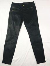 The Limited Womens black sparkle shimmer skinny denim jeans size 4 regular
