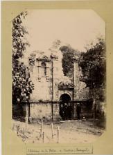 Portugal Sintra Château de la Péna Vintage print Tirage citrate  11x16  Ci