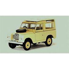 Véhicules miniatures en acier embouti 1:43 Land Rover