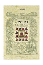 El zohar. Libro del esplendor (Coleccion Cabala y Judaismo) (Sp... Free Shipping