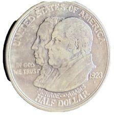 1923-S Monroe Doctrine Commemorative Silver Half Dollar
