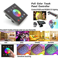 Wall-mounted Touch Panel LED Strip Controller Dimmer Switch for RGB RGBW Lights