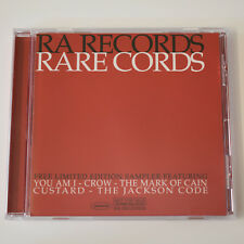 RA Records Rare Cords Ltd Edition CD Sampler You Am I Custard The Mark of Cain