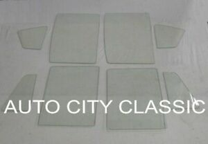 1959 1960 Chevy Glass 4Dr Station Wagon Pont Buick Olds Vent Door Quarter 8Pc CL
