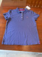 NWT Vineyard Vines for Target Men's Polo Shirt XL Navy & Red Limited Release