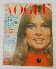 Vogue 1969 October 1, Raquel Welch, Lingerie, Spain, Anthony Burgess, Excellent