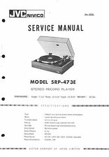 JVC Service Manual für SRP-473 E