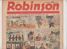 ROBINSON n°210 - 5 mai 1940 - TTB