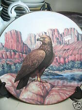 Hamilton 1988 Silent Watch Eagle Grand Canyon Ltd Ed Plate 9""