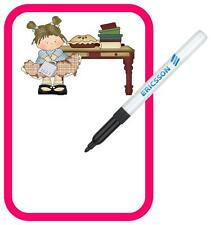 Fridge Magnet Memo Board With Pen Dry Wipe Memo Fridge Magnet