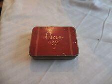 "Vintage Rizla Jiffy Cigarette Kit Tin 4 1/4"" x 3 1/4"" x 1"" Empty"