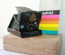 Polaroid SX-70 SE Land Camera Sonar One-Step Special Edition Blue Button.