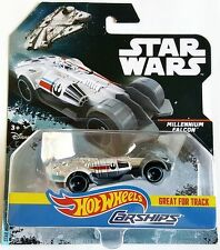 NEW 2017 HOT WHEELS CARSHIPS STAR WARS MILLENIUM FALCON FREE WORLDWIDE SHIPPING