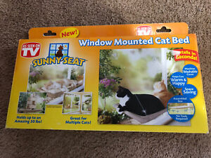 AS SEEN ON TV SUNNY SEAT WINDOW MOUNTED CAT BED