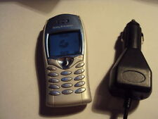 EASY CHEAP SONY ERICSSON T68I MOBILE PHONE ON T-MOBILE/VIRGIN+CAR CHARGER