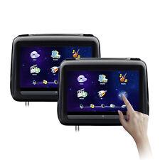 Par reposacabezas monitor universales Xtrons 10 pulgadas tocar HD USB SD DVD