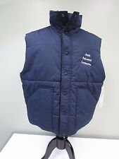 JOULE INDUSTRIAL CONTRACTORS VEST WEAR GUARD SNAP INSULATED BLUE MEN'S XL NWT