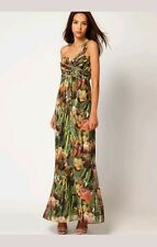 TED BAKER LONDON FLORAL TECLA  DRESS MAXI SEXY RESORT NWOT TED SIZES 0(US 2)