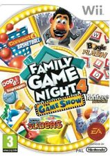 Hasbro Family Game Night 4: The Game Show Edition Nintendo Wii PAL Brand New