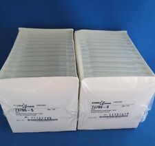 250 Conical 5mL Disposable Glass Centrifuge Tubes by Kimble# 73785-5