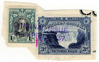 (I.B) Southern Rhodesia Revenue : Duty Stamp 1/3d