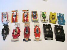 (13) Aurora AFX slot car bodies +++